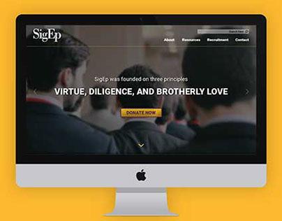Sigma Phi Epsilon Website