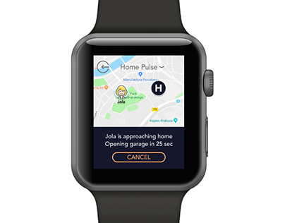 SmartHomeApp for smart watch