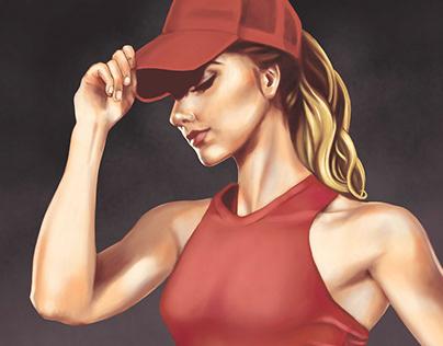 Pintura Digital: Olga Paredes