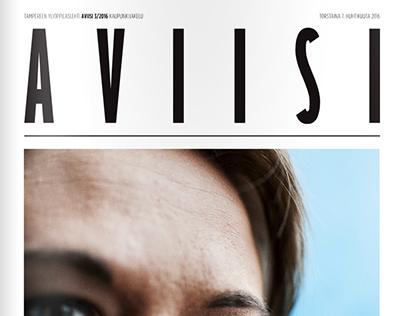 Layout Design - Tampereen ylioppilaslehti Aviisi