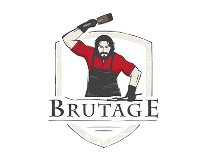 «Brutage»   logo   branding