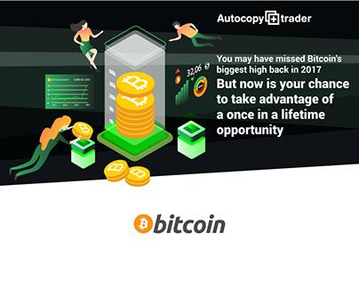 Bitcoin Traiding Landing Page