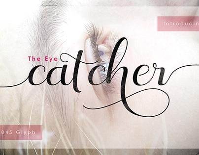 The Eye Catcher + Swashes by Fittigline Type Supply