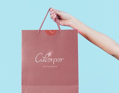 Cukorpor Patisserie Brand Identity
