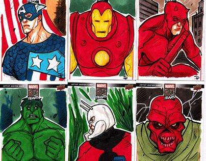 Marvel 80th - Sketch Cards