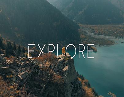 EXPLORE   Drone Cinematic Edit