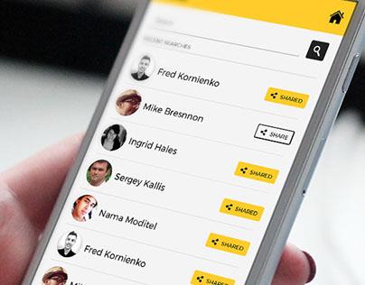 Scanpoint iOS App UI/UX Design