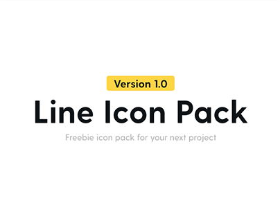 Line icon Pack 1.0 is out