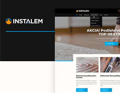 Website, copywriting and online campaign instalem.sk