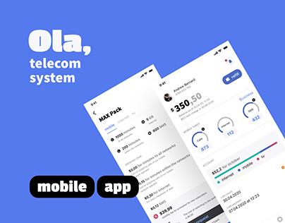 Ola mobile app
