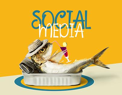 Maa'dania   Social media designs