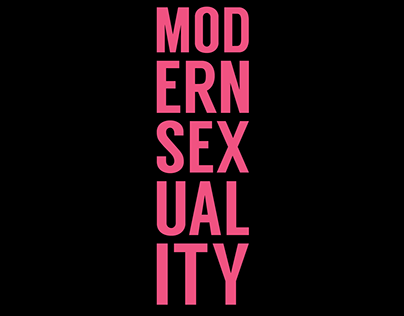 Modern Sexuality Exhibition Poster