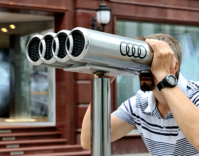 Audi City Moscow Grand Opening