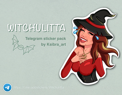 WITCHULITTA Stickers l Стикеры Witchulitta