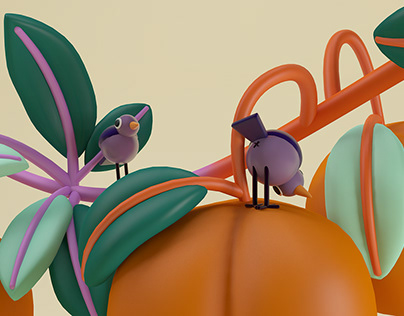 birds & fruit