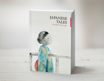 Japanese Tales - book cover design