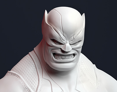 Wolverine Sculpt Fanart