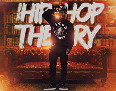 Hip-Hop Theory | Mixtape Album CD Cover Template