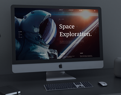 Space ⎮ Banner ⎮BM Design