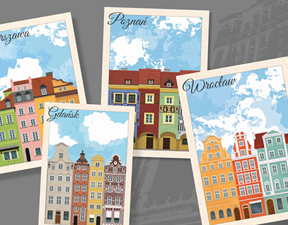 Polish cities by their tenement houses