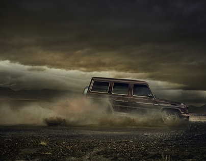 Mercedes G-Wagon Iceland CGI / Post