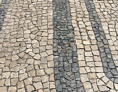 Narrow streets of cobblestone: Évora (un)Disturbed
