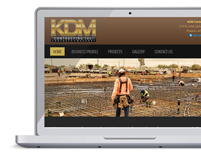 Website Design - KDM Contracting