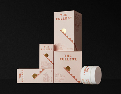 THE FULLEST brand identity & saffron collection