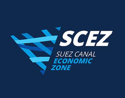 Suez Canal Economic Zone logo and CI proposals (COPY)