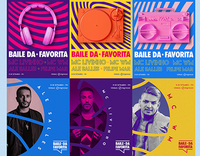 Baile da Favorita |Visual identity
