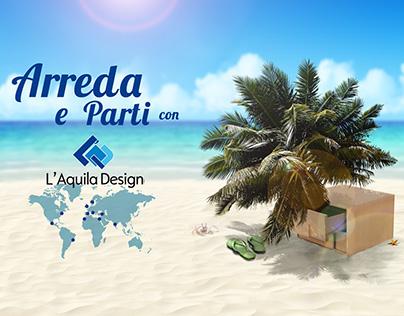 Campagna pubblicitaria Arreda e Parti • L'Aquila Design