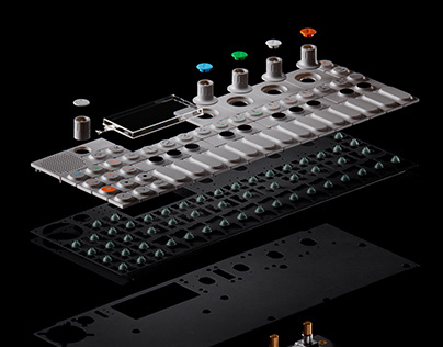 OP-1 exploded view
