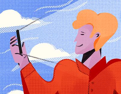 Blog Illustrations for Freshworks