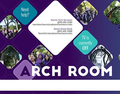Norris Arch Room TV