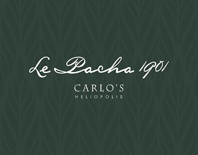 Carlo's business card