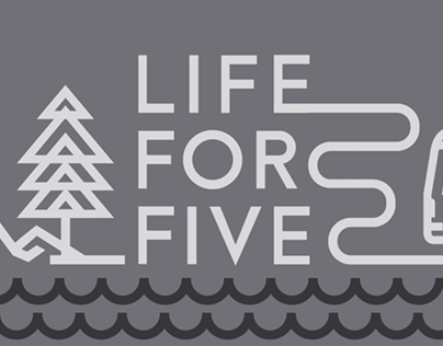 Life for Five - Logo Animation