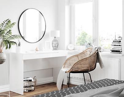 Furniture visualization for a Polish furniture company