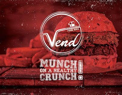 Vend Food Bike | Logo Design & Packaging Design