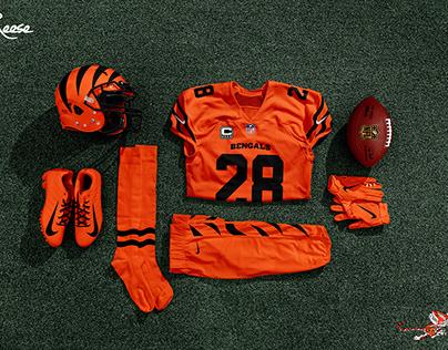 Cincinnati Bengals Uniform Refresh