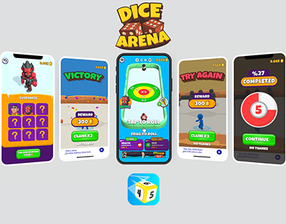 Dice Arena Game UI