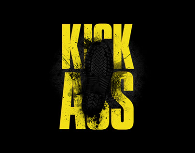 Kick Ass - Energy drink packaging