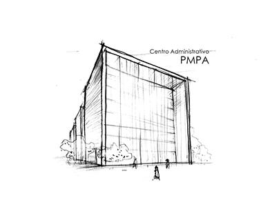 Estudo para novo Centro Administrativo da PMPA
