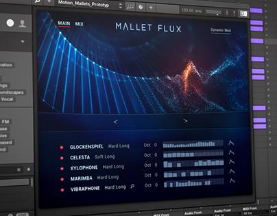 Native Instruments | Mallet Flux | UI Design