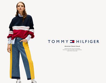TOMMY HILFIGER | UI/UX DESIGN