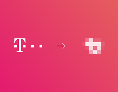 Redesigning the T-Mobile logo
