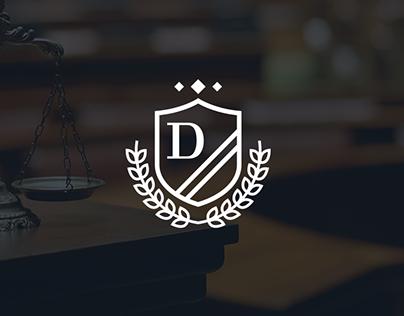 Delamater - Law Firm Visual Identity Design