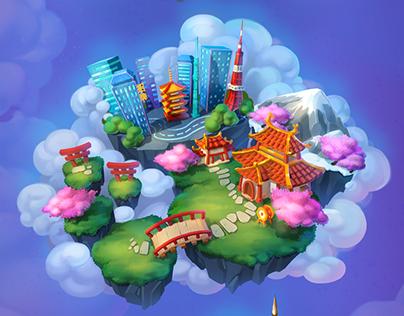 Flying Islands