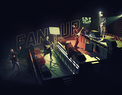 """Fender """"Fan Up"""""""