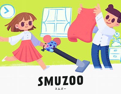 """SMUZOO"" artwork and character design"