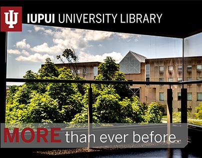 IUPUI University Library, MORE Campaign